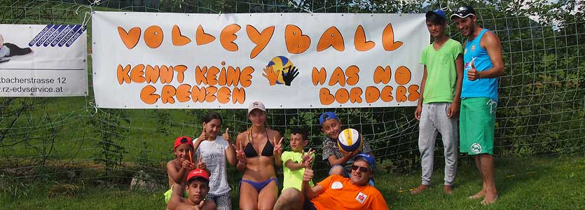 Volleyball has no borders! VC St. Johann in Tirol