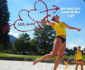 Hit like a Girl im Volleyball Club St. Johann