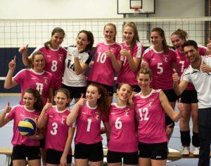 Frauen Landesliga A Team 2016/17 Volleyball St. Johann