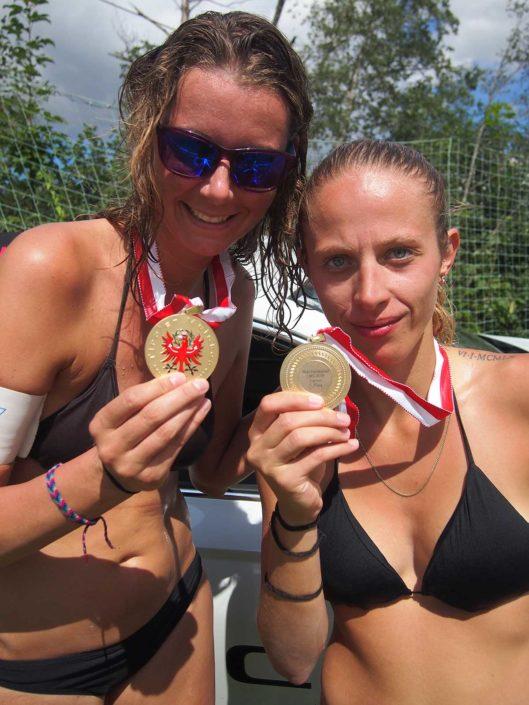 VC St Johann Beachvolleyball Siegerinnen