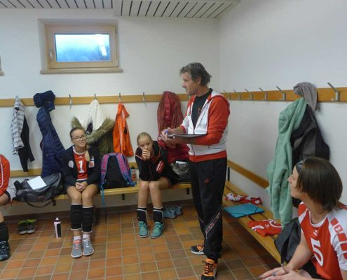 VC St. Johann Frauen Landesliga C - Letzte Instruktionen