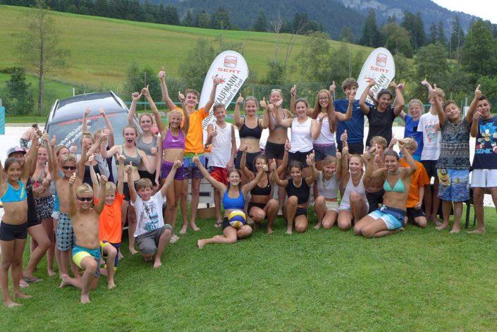 VC St Johann Beachvolleyball Kinderturnier