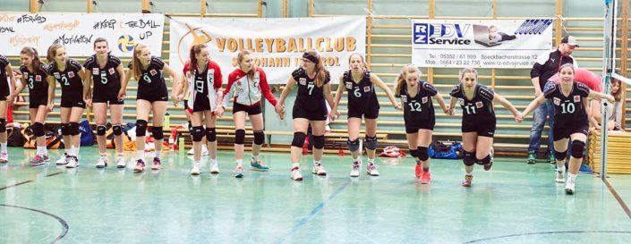 VC St Johann Meisterinnen Gruess