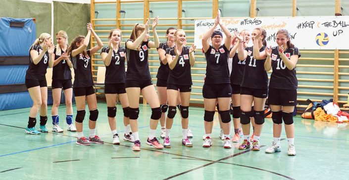 VC St Johann Meisterinnen Hashtags