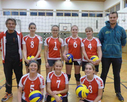 VC St. Johann Frauen Landesliga C - unser Team im Zillertal