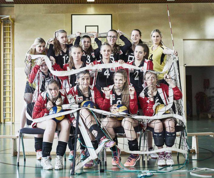 VC St Johann Volleyballkaefig