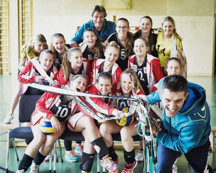 VC St Johann Pull the Team