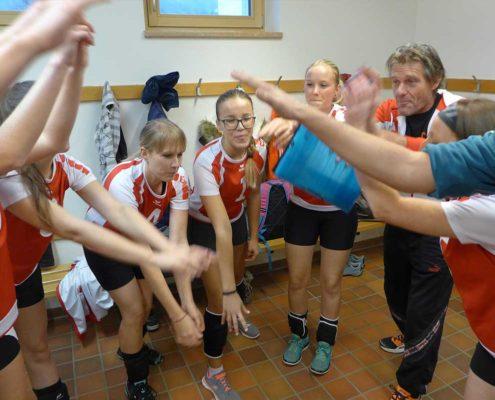 VC St. Johann Frauen Landesliga C - voll motiviert