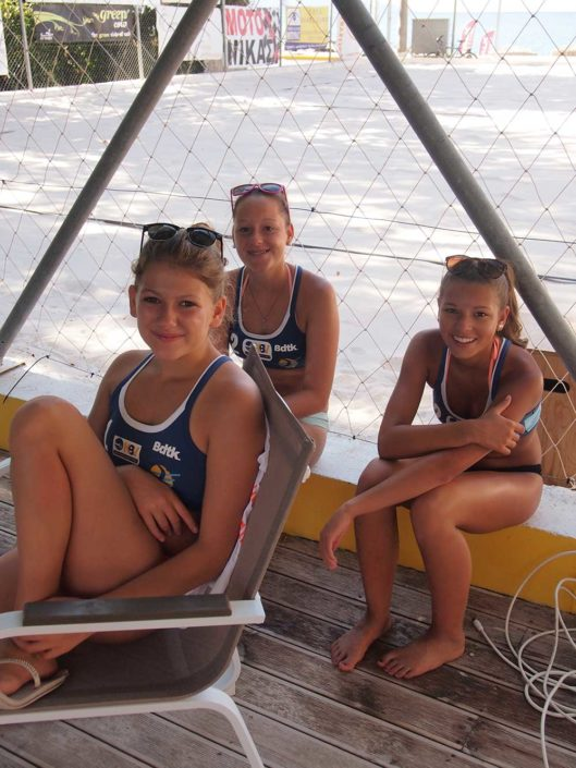 Kalamata Beachvolley Camp 2016 - Spass & Lernen