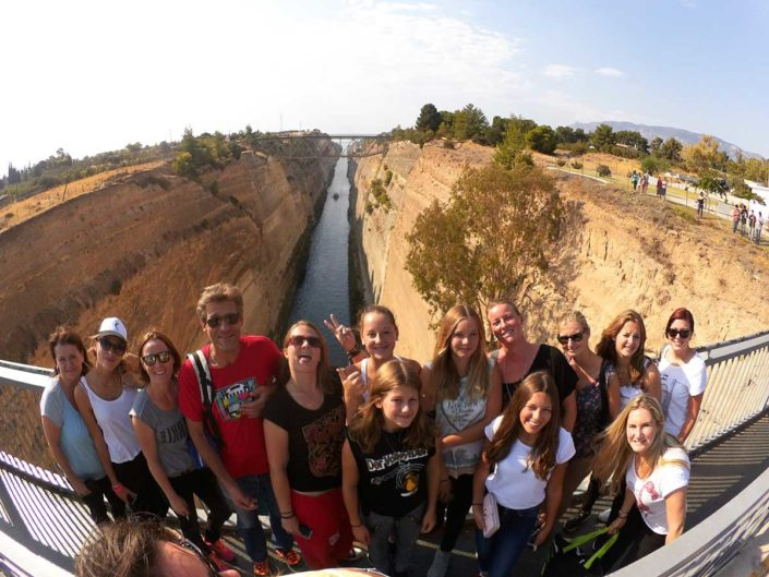 Kalamata Beachvolley Camp 2016 - Trip nach Isthmos