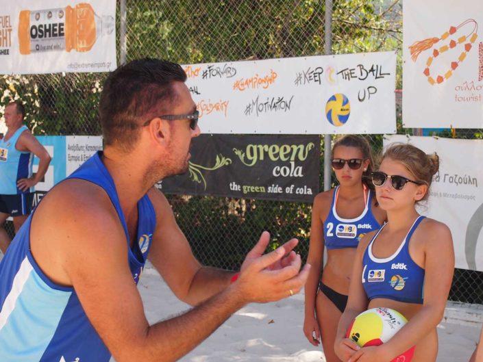 Kalamata Beachvolley Camp 2016 - Technische Tipps von den Besten