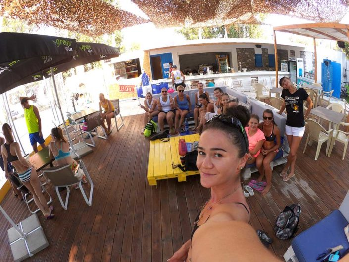 Kalamata Beachvolley Camp 2016 - Club-Lounge
