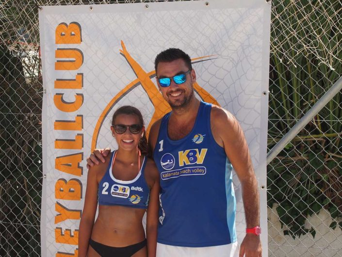 Kalamata Beachvolley Camp 2016 - Beachvolleyball for fun & tan