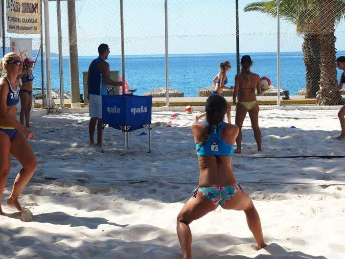 Kalamata Beachvolley Camp 2016 - Beachvolley beim Wort genommen
