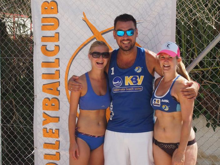 Kalamata Beachvolley Camp 2016 - Das Training macht allen Spass