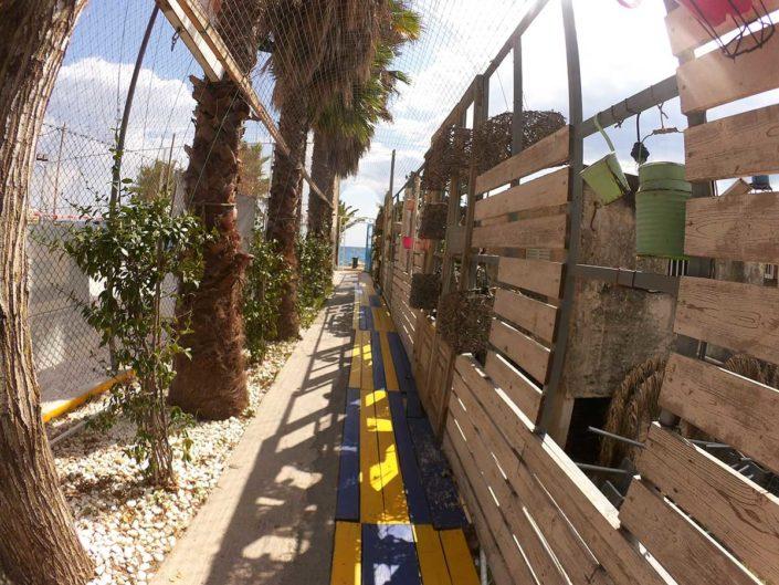 Kalamata Beachvolley Camp 2016 - Am Weg vom Court zum Strand