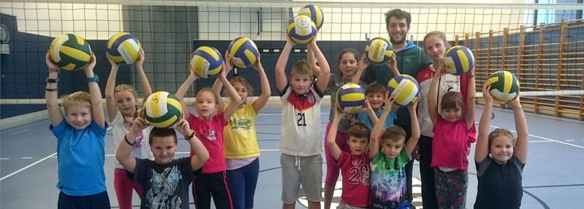 Ein Herz für Volleykids - VC St. Johann in Tirol
