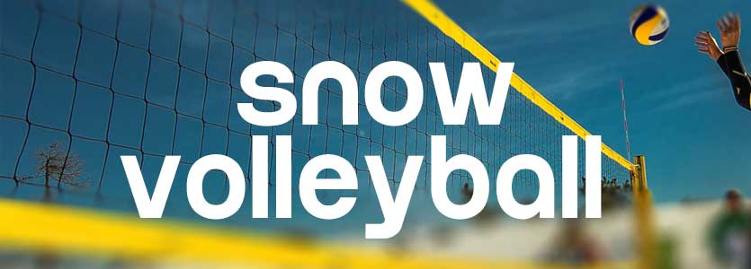 Snow Volleyball Exhibition-Games bei Snow Show