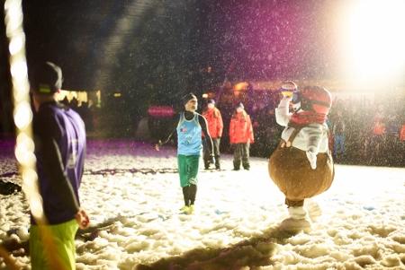 Snowvolleyball VC St. Johann Valle Maskot