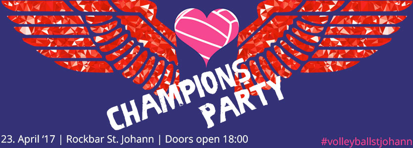 Champions Party 2017 - VC St. Johann