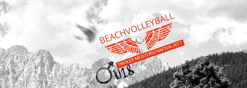 Beachvolleyball Landesmeisterschaft Junioren U18 - VC St. Johann in Tirol