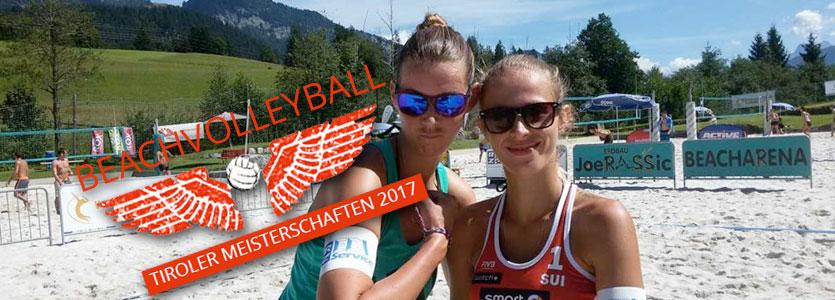 Tiroler Beachvolley Landesmeisterschaften Frauen 2017 - Vc St. Johann in Tirol