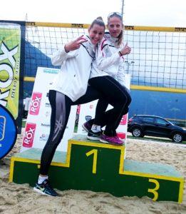 Krissi Kasperski & Ria Diamanti mit steigender Formkurve im Beachvolleyball